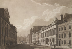 Old Palace Yard from Margaret Street